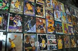 Nice Kobe Bryant Card Collection! Over 50 Cards! Must See