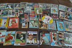 Nice Pete Rose Baseball Card Collection! Must See