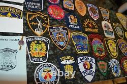 Nice Police Patch Lot! Must See