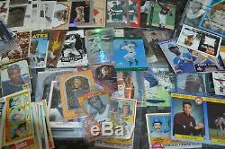 Nice Rookie, Insert & Game Used, Etc Baseball Card Collection! Must See