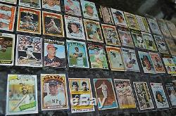 Nice Vintage Baseball Card Collection! 94 Cards Total! Must See