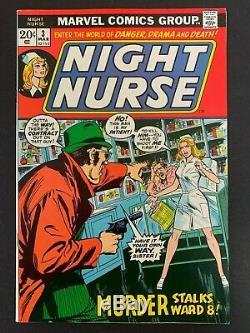 Night Nurse #3 High Grade! (marvel, 1973) Must-see! Lots Of Pics