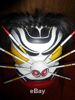 Northwest Coast-First Nation hand carved cedar Bumble Bee maskl! Must See