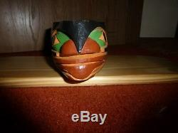 Northwest Coast-First Nation hand carved cedar Killer Whale bowl! Must See