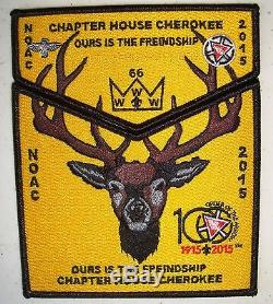 OA 100TH CENTENNIAL LODGE 66 2015 NOAC 19-PATCH SET Game of Thrones MUST SEE