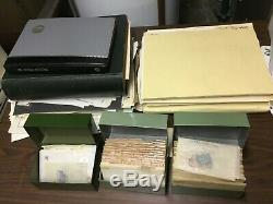 Old US/WW Stamp Collection On Pages + Albums! Estate Sale Find! Must See