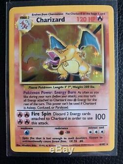 Pokemon Card Base Set Charizard 4/102 MUST SEE! PSA