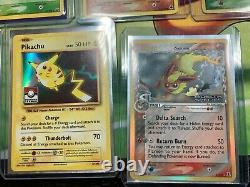 Pokemon Card Collection Lot #3! Amazing Collection MUST SEE Flareon Stamped ++