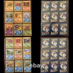 Pokemon Cards COMPLETE 100% Fossil Set 62/62 Ultra Pro VINTAGE RARE MUST SEE