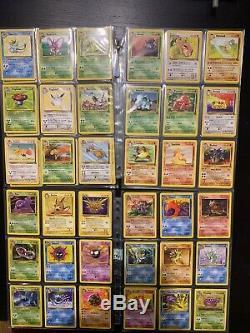 Pokemon TCG Full Complete Fossil & Jungle Set WOTC 1999 Rare MUST SEE! Holos