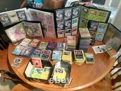 Pokemon collection lot 1st edition Recent(2021). MUST SEE/READ