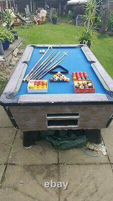 Pool Table Slate Bed 7ft. Buyer Must Collect BL81ER see description