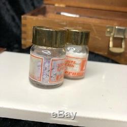 RARE! VINTAGE, DENTAL HISTORY! Ceramco Kit. Enamel Porcelain Powders MUST SEE