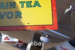 Rare 1930's Clark's Teaberry Gum Advertising Sign, Must See