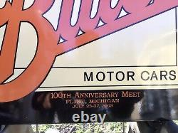 Rare And Beautiful Double Sided Buick 100th Anniversary Meet Sign Must See