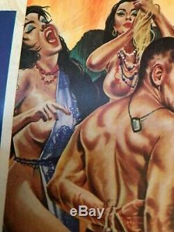 Rare Nipple Cover SOUTH SEA STORIES (March 1964) PULP MAG/JUNE PALMER/MUST SEE