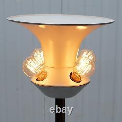 Rare Original Art Modern Circa 1960 Floor Standing 5 Bulb Lamp Bronzed Must See