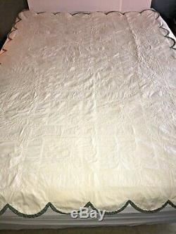 Rare! Teaching Sampler Quilt, Must See! Gorgeous Detail! Meticulous Stitching