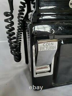 Refurbished Pay phone vintage 3 slot must see condition