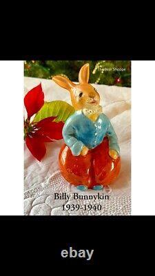 Royal Doulton Bunnykins-'Billy Bunnykin' 1939 D8302 - Rare - A Must See