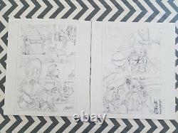 Runnaways Interior Art Prelims v2 #8 22 pages of Original Alphona art Must See