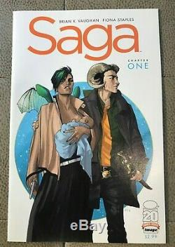 SAGA #1 1st prt NM. Vaughn & Staples MUST SEE