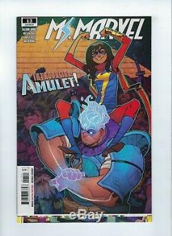 SUPER RARE 1/1 ERROR Magnificent Ms. Marvel 13 miscut must see