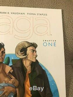 Saga 1 VHTF 4th print Vaughan Staples low print run MUST SEE