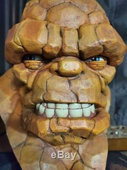Sideshow Collectibles Thing Life Size Bust Fantastic Four Rare! Must See