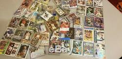 Sports Card Collection AUTO JSY SP patch LOT Autograph Rookie RC Chrome MUST SEE