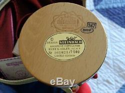 Steinbach Nutcracker D'artagnan 12 Three Musketeers Series Mint! Must See