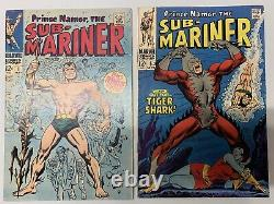 Sub-Mariner run 1-72 complete plus King Size 1 must see pics, beautiful run