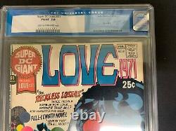 Super DC Giant #21 Cgc 7.0 (dc, 1971) Scarce Love Issue! Must-see