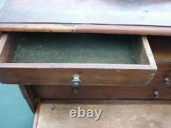 Superb Vintage Antique Engineers Tool Chest with steel banding Must see