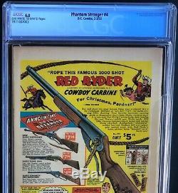 THE PHANTOM STRANGER #4 (DC 1953) CGC 6.0 Only 7 Higher Graded! Must See