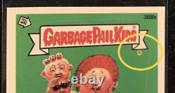 TOPPS Garbage Pail Kids GPK OS10 error card #388b MUST SEE THE LITTLE ALIEN
