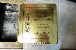 TRUTH BRAND PURE EXTRACT VANILLA PIE-SAFEDISPLAY BOX. MUST SEE QjQ