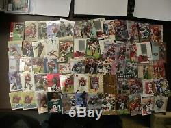 Terrell Owens 850 card collection football lot Eagles, Cowboys, 49ers, must see