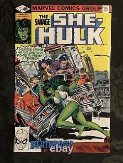 The Savage She-Hulk #1 #2 1979 Near Mint Comic Books Marvel Must See High CGC