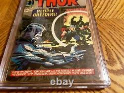 Thor 134 cgc 6.5 Presents Well Must See 1st High Evolutionary Man Beast Fafnir