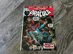Tomb of Dracula #13 High Grade NM Origin of Blade Must See Pics