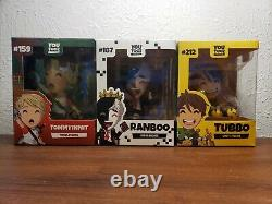 Tommyinnit Tubbo Ranboo Youtooz Minecraft DREAM SMP SOLD OUT BRAND NEW MUST SEE