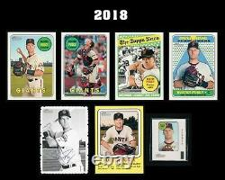 Topps Heritage Buster Posey 44 Card Collection No Dups Must See