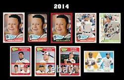 Topps Heritage Miguel Cabrera 73 Card Collection No Dups Must See