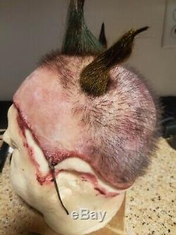 Twisty The Clown Silicone Scalp by AFFX! RARE! Must See! Made with Human Hair