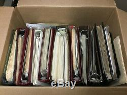 US WW Stamp Collection in Albums! Estate Sale Find! Must See! 250+ pics