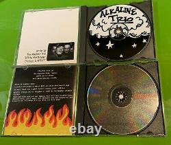 Ultimate Rare Alkaline Trio CD Collection MUST SEE