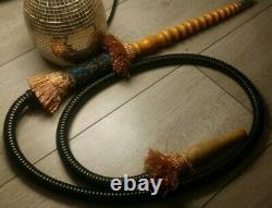 Ultra Rare Vintage Persian Shisha/ Hookah Pipe MUST SEE