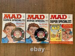 VINTAGE MAD Magazine SUPER SPECIAL LOT OF 14 1970s WITH BONUSES MUST SEE