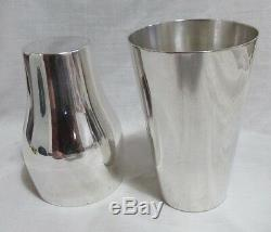 Very Nice Unusual Wmf Bauhaus 1910 Cocktail Shaker, Very Good, Used, Must See